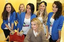 Prosincová soutěž Miss Superkrás 2013 v Rýmařově.