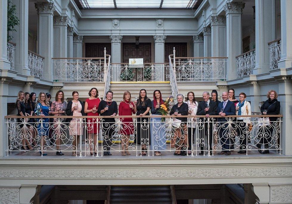 Slavnostní vyhlášení 10. ročníku Ženy regionu.