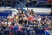 Utkání kvalifikace tenisového Davisova poháru - čtyřhra: Česká Republika - Nizozemsko, 2. února 2019 v Ostravě.