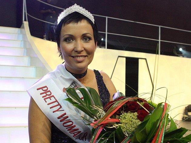 Pretty Woman Ostrava 2009 Alena Böhmová z Bolatic na Opavsku.