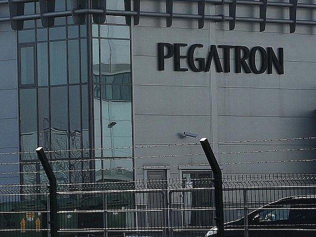 Společnost Pegatron v Ostravě-Hrabové.