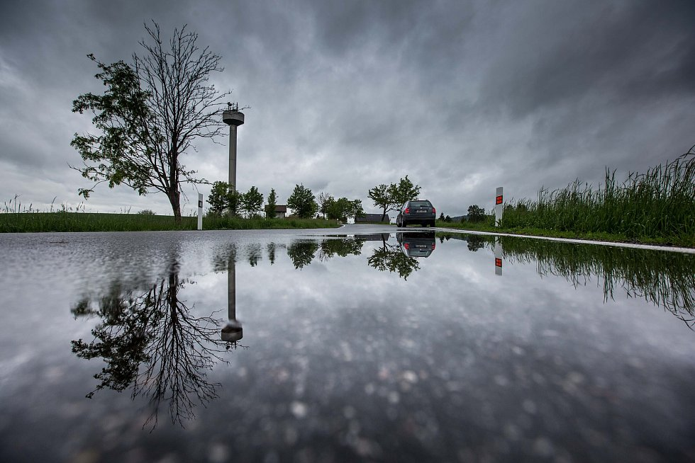 déšť na Královéhradecku