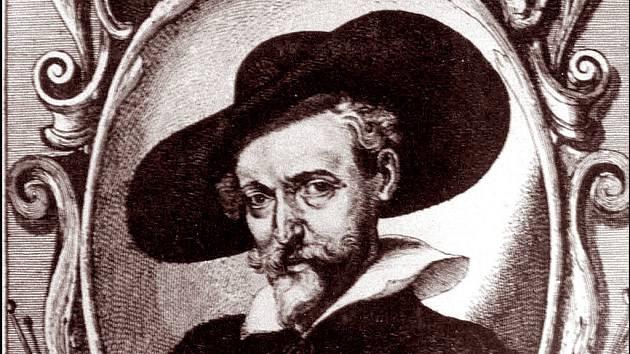 Václav Hollar je také autorem podobizny P. P. Rubense (lept, pravděpodobně z roku 1640).