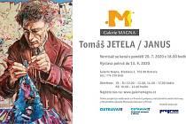 Pozvánka na výstavu Tomáše Jetely v Galerii Magna