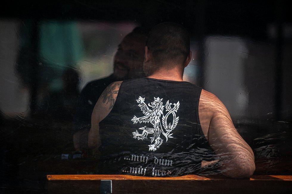 Hospoda Skleník, 1. července 2020 v Karviné.