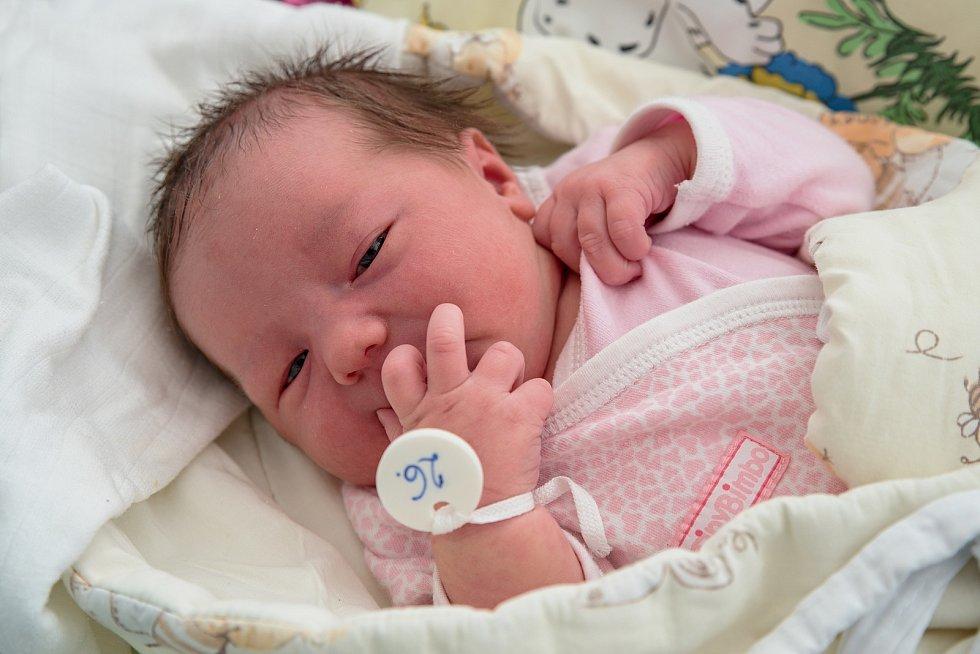 Emma Hatošová, narozena 10. dubna 2021 v Karviné, míra 51 cm, váha 3810 g. Foto: Marek Běhan