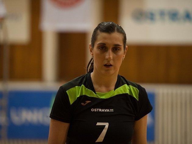 Blokařka Iva Nachmilnerová na snímku.