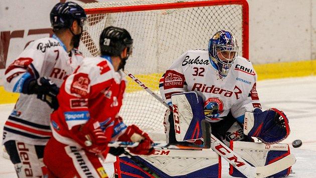 HC Vítkovice Ridera - HC Olomouczleva Ivan Baranka, František Skládaný, Patrik Bartošák