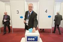 28. Kongres ODS v hotelu Clarion Ostrava , 13. ledna 2018 v Ostravě. Volba předsedy ODS. Miroslav Svozil