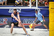 Turnaj Světové série Ostrava Beach Open, 21. června 2018, na snímku  (vlevo) Alison Cerutti.