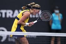 Petra Kvitová postoupila v Ostravě do semifinále.