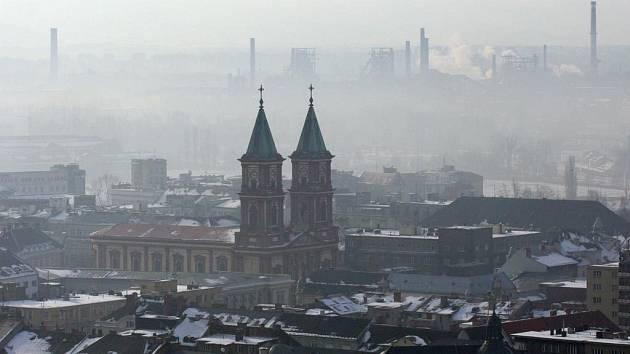 Smog nad Ostravou