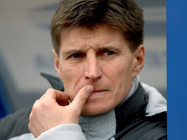 Trenér vítkovických fotbalistů Alois Grussmann