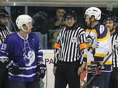 II. hokejová liga, sk. Východ, 3. kolo  HK Nový Jičín – HC Kopřivnice 7:1 (3:0, 2:1, 2:0)