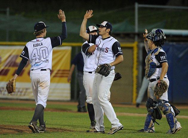 Baseballisté Arrows Ostrava.