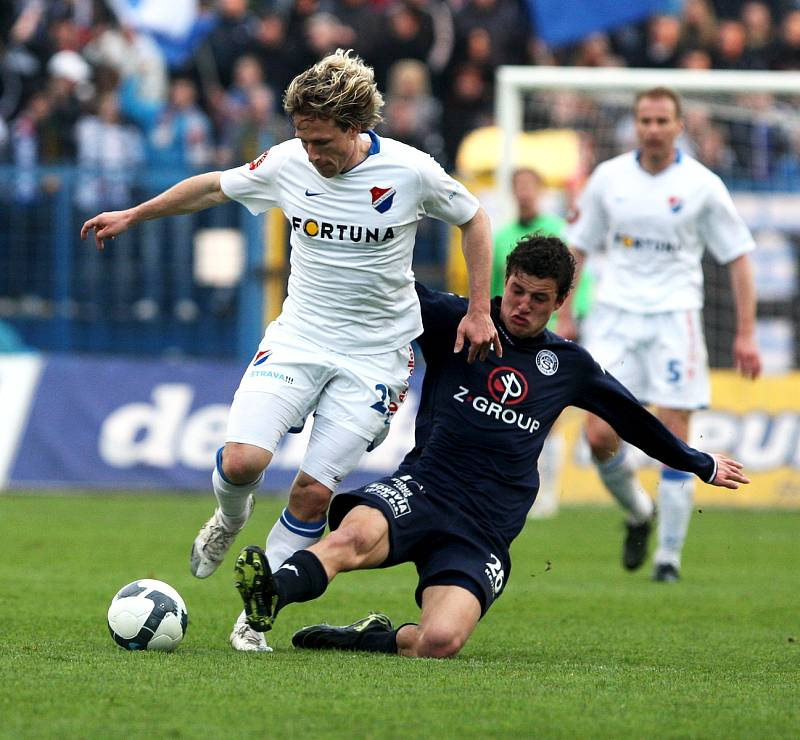 Mario Lička odehrál během působení v Baníku Ostrava mnoho povedených zápasů. Foto: archiv