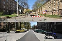 Rekonstrukce ulice Matěje Kopeckého.