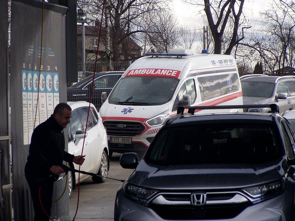 Automyčka v MS kraji, 23. ledna 2021.