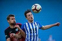 17. kolo FNL: MFK Vítkovice - FC MAS Táborsko, 4.března 2019 v Ostravě.