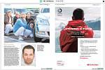 Světové média kde byla fotografie ze střelby ve FNO, noviny zde dne 11. prosínce 2019. Na snímku španělské noviny ABC (Andalucía).