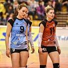 Extraliga žen ve volejbalu - 3. utkání Semifinále: TJ Ostrava vs. VK UP Olomouc