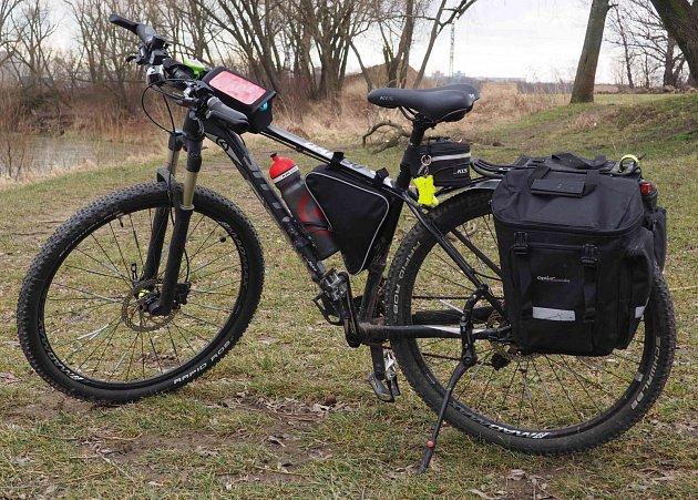 Ukradené kolo.
