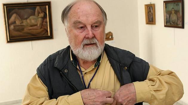 Eduard Ovčáček vystavuje ve Výtvarném centru Chagall v Ostravě své fotografiky.