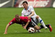 Utkání FC Baník Ostrava - SK Dynamo České Budějovice