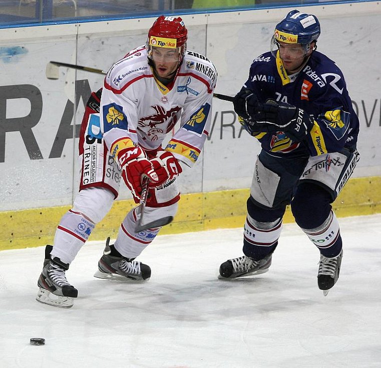 Z utkání HC Vítkovice Steel - HC Oceláři Třinec