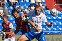 FC Baník Ostrava - Pardubice 3:1 (4. kolo FORTUNA:LIGY, 15. 8. 2021).