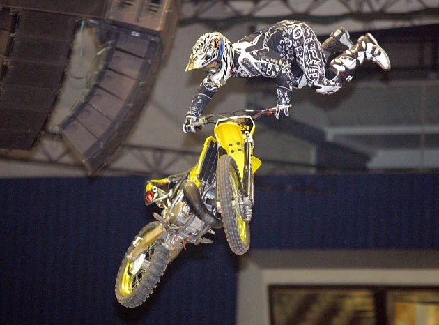 Ilustrační snímek z Freestyle motocrosu