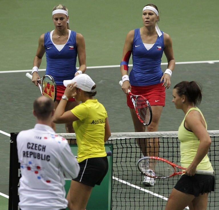 Andrea Hlaváčková, Lucie Hradecká – Ashleigh Bartyová, Casey Dellacquaová 6:0, 7:6