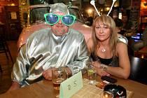 UFO ples v Rock and Roll garáži v Ostravě-Martinově.