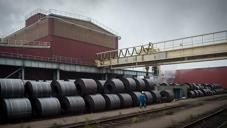 Bývalý závod ArcelorMittal Ostrava, dnes Liberty Ostrava. Ilustrační foto.