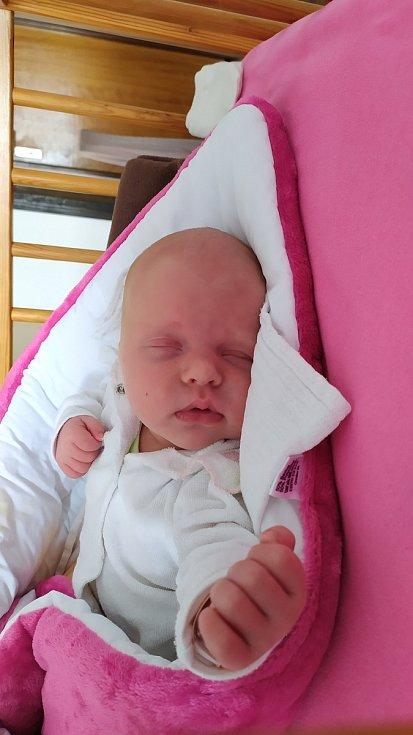 Karla Zinglarová, narozena 12. února 2021, míra 53 cm, váha 4390 g. Foto: Archiv rodiny