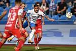 Utkání 4. kola první fotbalové ligy: FC Baník Ostrava - FK Pardubice, 19. září 2020 v Ostravě. (střed) Daniel Holzer z Ostravy.