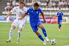 Přípravný zápas FC Baník Ostrava vs. FC Slovácko hrané v Kroměříži 6:1. Na snímku MIlan Baroš.