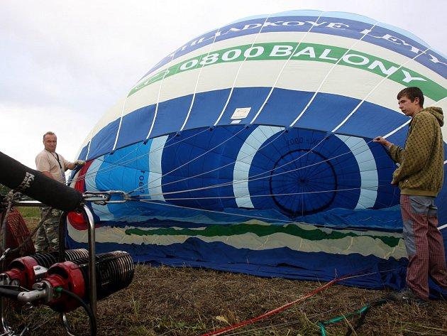 Balony nad Ostravou