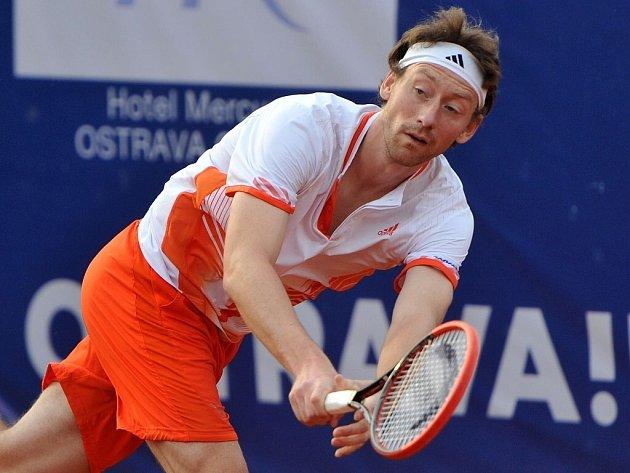 Tenisový challenger Prosperita Open v Ostravě.