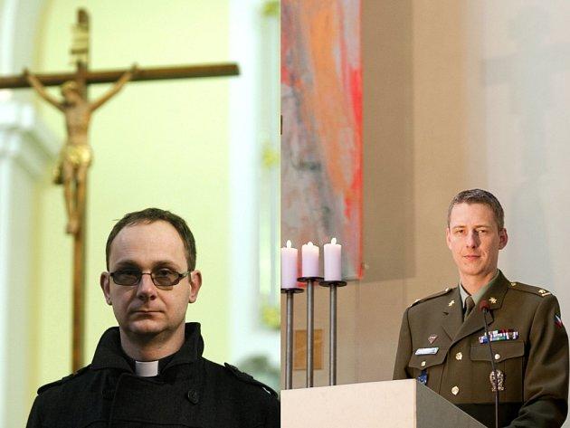 Farář Václav Tomiczek má teprve sedmatřicet let, dokáže ale najít pochopení pro všechny generace.