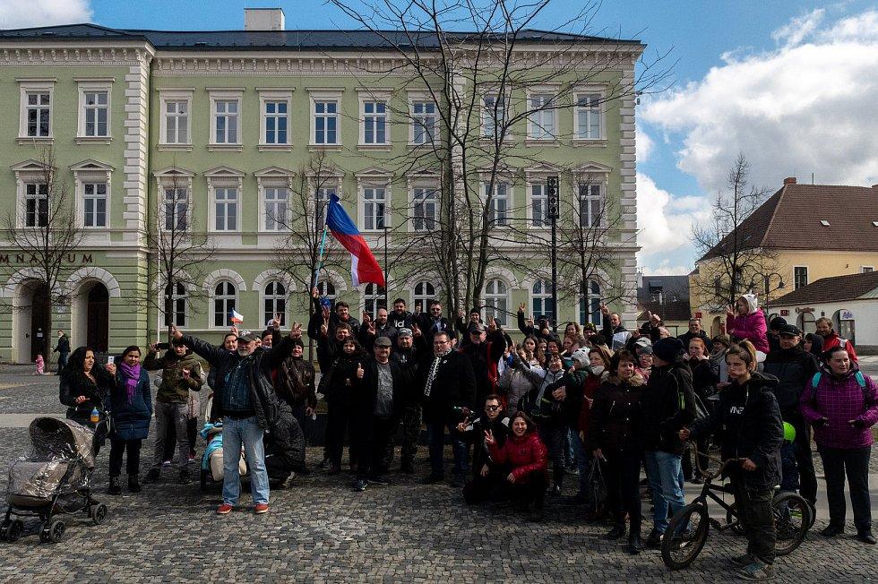 Procházka s Volným blokem, kterou pořádá Lubomír Volný (Poslanec Parlamentu České republiky), se uskutečnila 20. března 2021 v Krnově.