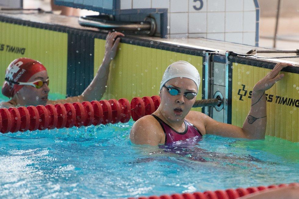 Velká cena Ostravy v plavání. Na snímku Tereza Závadová.