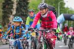 Cyklistický závod PORUBAJK, 27. dubna 2019 v Ostravě - Porubě.