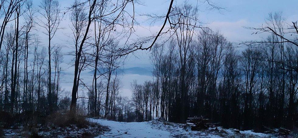 Cestou na Javorový vrch pořídila tento záběr Žaneta Valčuhová.