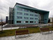 Nová budova fakulty elektrotechniky a informatiky.