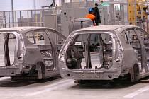 Lisovna a svařovna firmy Hyundai