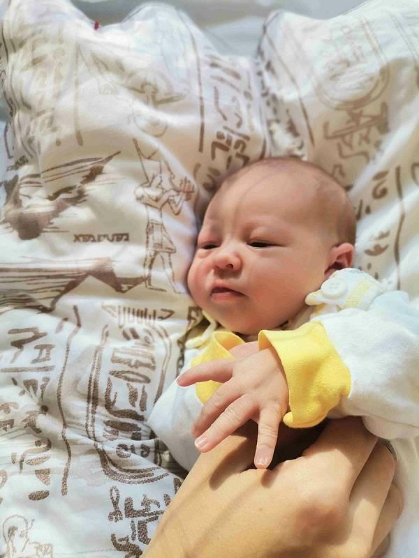 Agáta Hartmannová, Rychvald, narozena 6. září 2021 v Havířově, míra 50 cm, váha 3260 g. Foto: Michaela Blahová