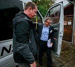 Debata v rámci projektu Deník-bus s volebními lídry za Moravskoslezský kraj. Na snímku Lubomír Zaorálek, ČSSD
