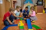 Děti ve školce. Ilustrační foto.