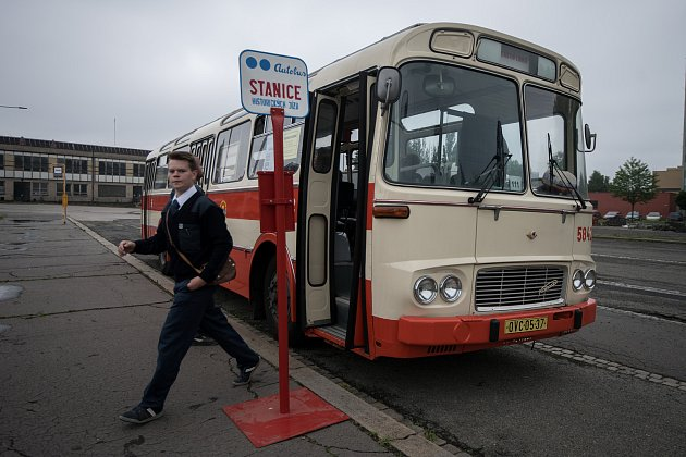 Projížďky historickými vozidly 19. května 2018 v Ostravě.
